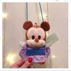 Tokyo Disneyland Pass Holder Wallet Mickey Vintage